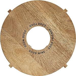 Santa Barbara Design Studio Table Sugar Wine Holder Cheese Board, 12