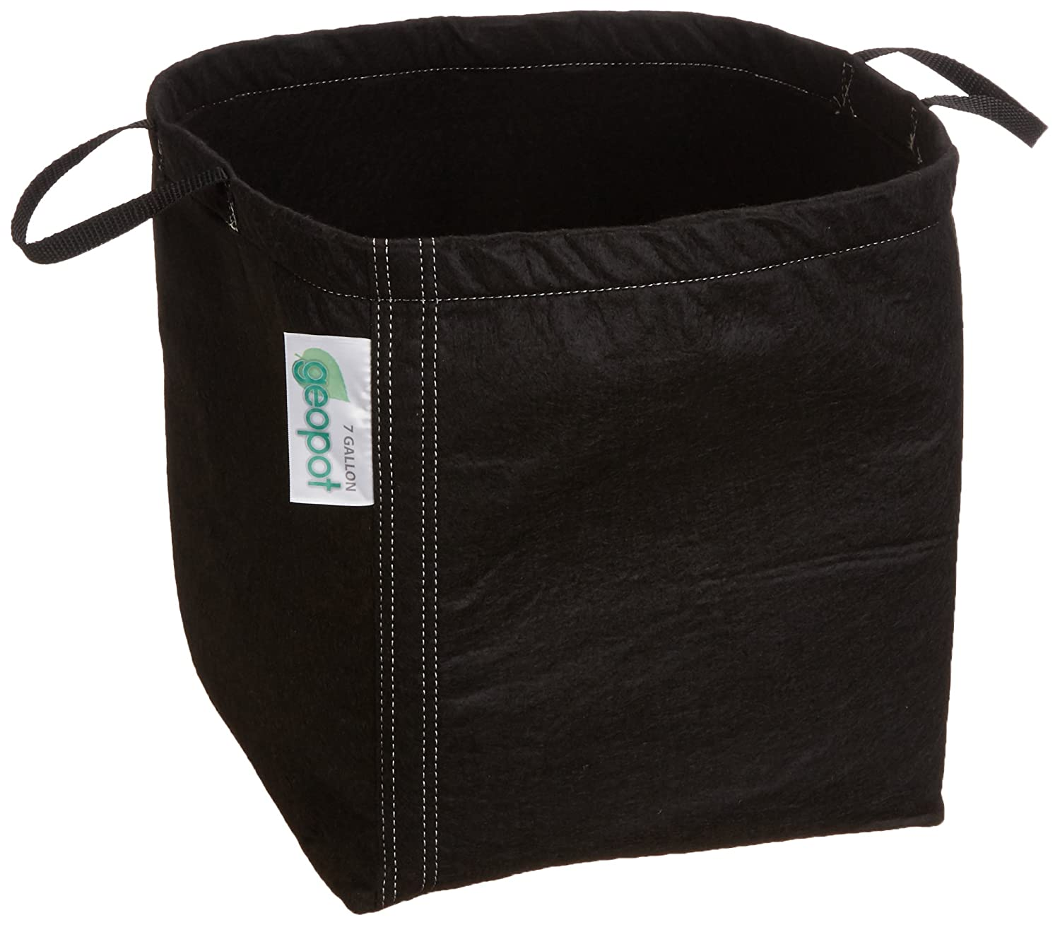 GeoPot GEO7GAL-HN Plant Container with Handle, 7-Gallon