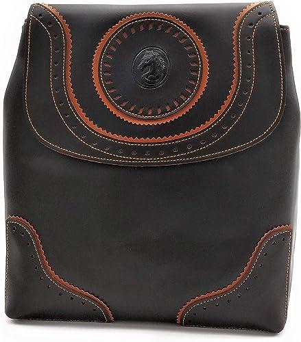 ANTHER Bolso mochila estilo cartujano fabricado en autentica