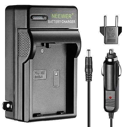 Neewer Cargador indicador LED para Nikon EN-EL14 US & UE Adaptador ...