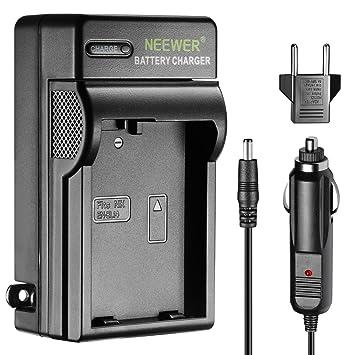 Neewer Cargador indicador LED para Nikon EN-EL14 US & UE Adaptador de Coche Apto réflex Digitales Nikon D3100 D5200 D5100 D5300 °Cámaras Digital ...