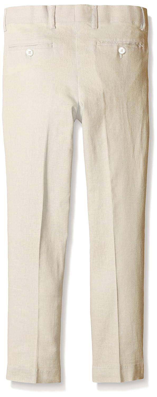 Isaac Mizrahi Boys Solid Linen Pants