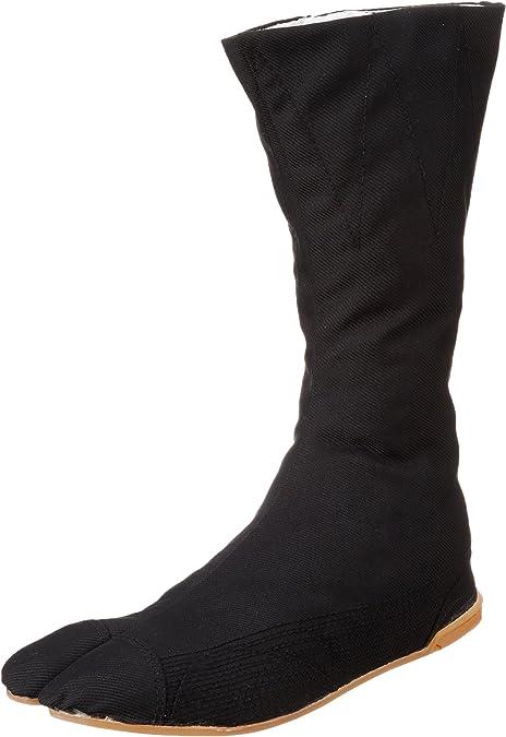 Marugo Tabi Boots Ninja Shoes Jikatabi (Outdoor tabi) MANNEN Nuitsuke (Sewn Rubber Outsole) 12 Hock