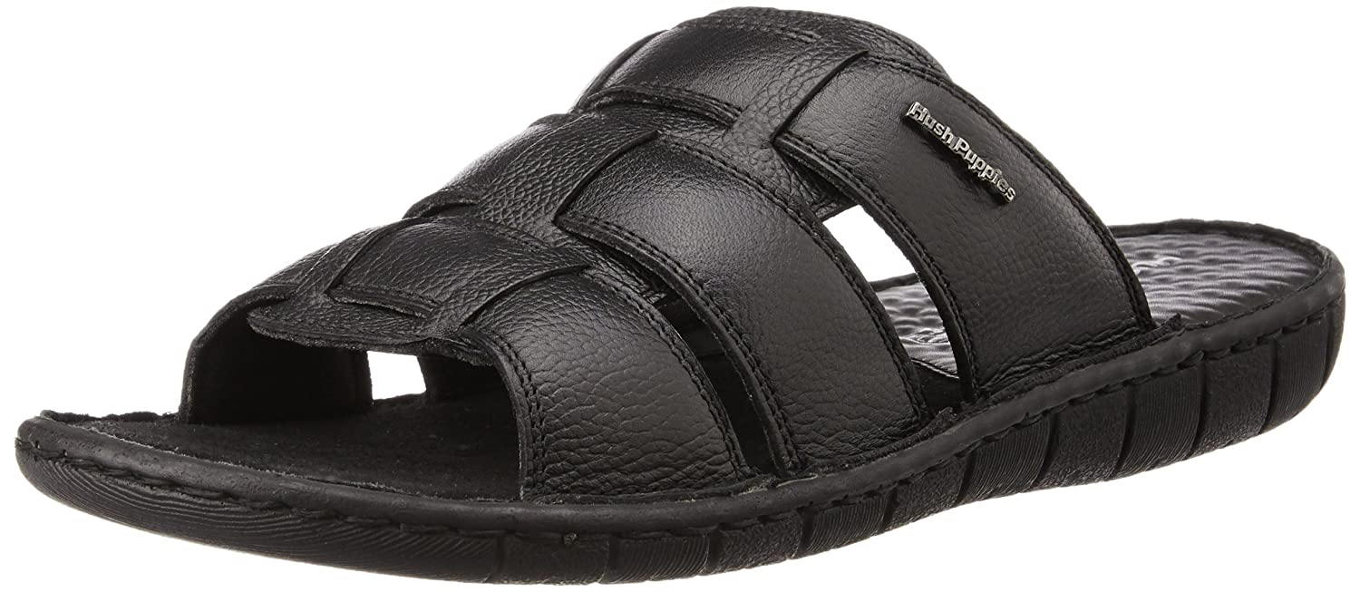 4fe6b5220437 Hush Puppies Men s Sedan Mule Leather Flip Flops Thong Sandals  Buy Online  at Low Prices in India - Amazon.in