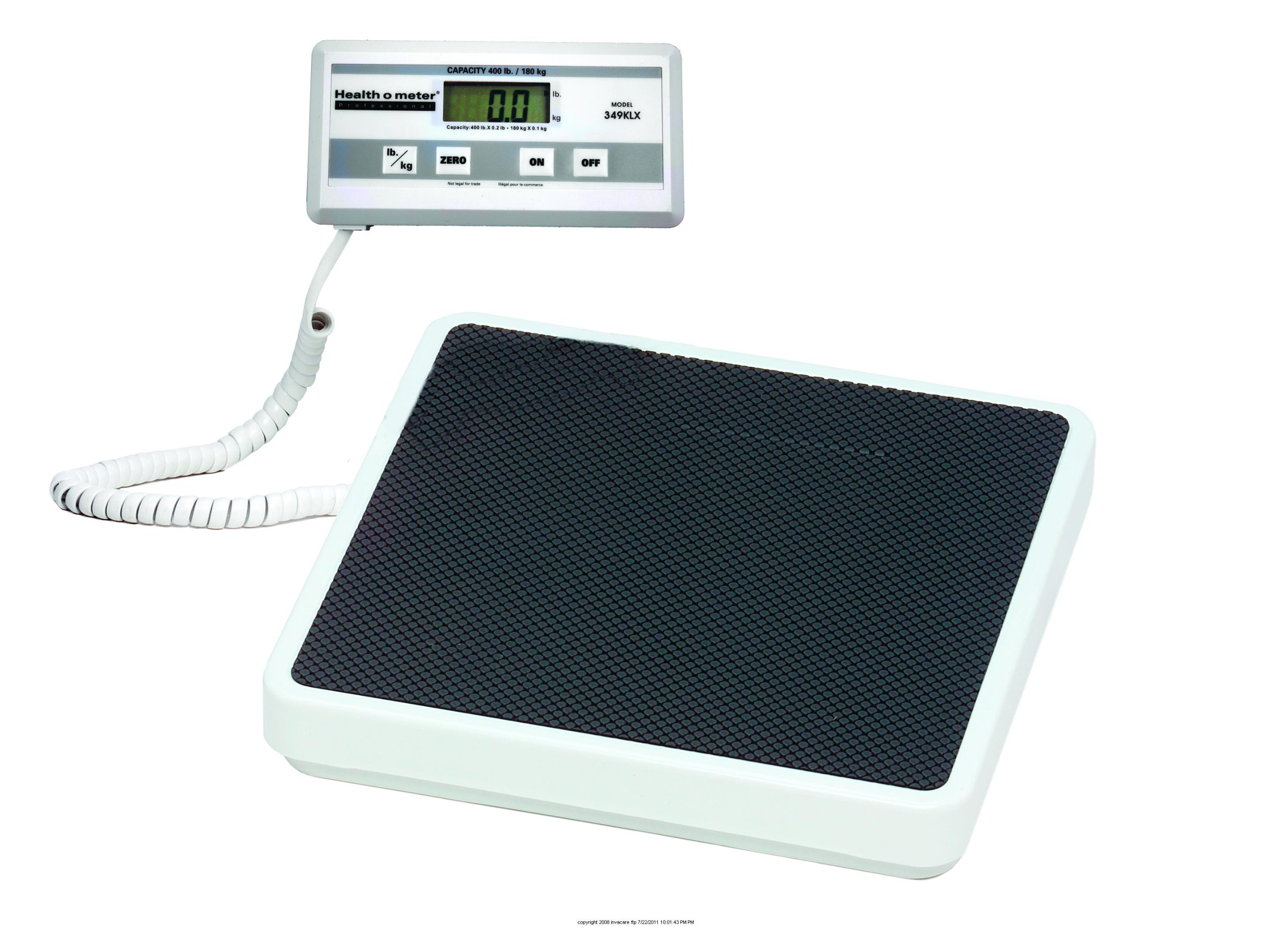 Health o meter Digital 2-Piece Platform Scale with Remote Display-(1 EACH) by Pelstar (Image #1)