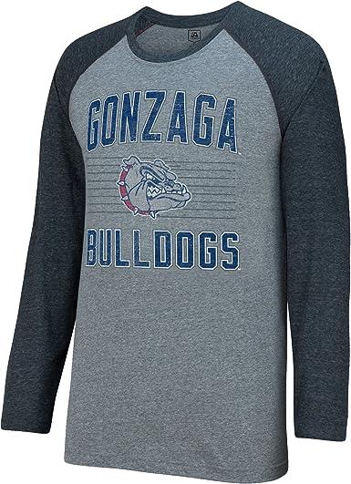 J America NCAA Gonzaga Bulldogs Mens AAA Tee Baseball Tee