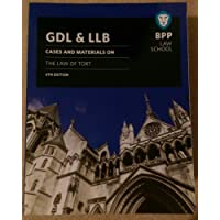 GDL & LLB: Cases and materials on the law of tort