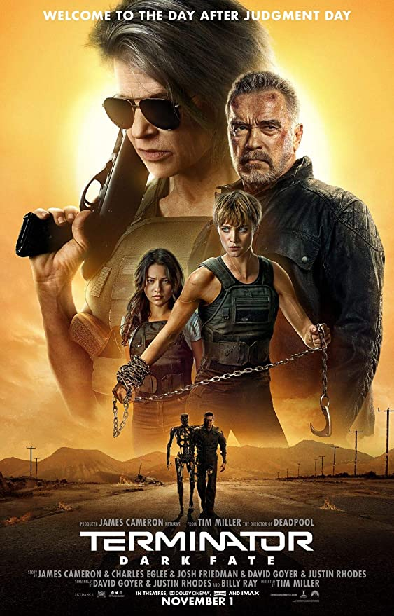 Lionbeen Terminator Dark Fate - Movie Poster - Cartel de la ...