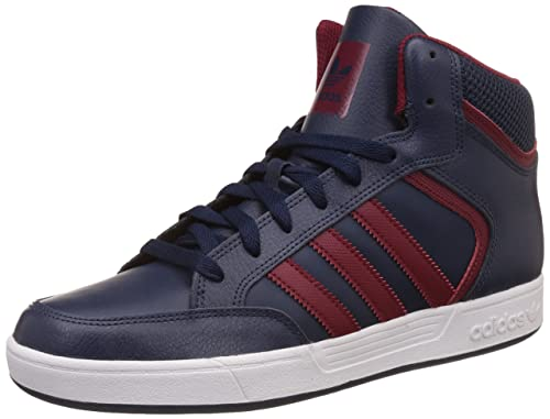 adidas Varial Mid, Zapatillas Altas para Hombre, Azul Navy/Collegiate Burgundy/FTWR White, 44 2/3 EU: Amazon.es: Zapatos y complementos
