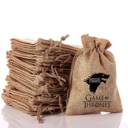 OMzgxGOD - 10 Piezas Game of Thrones Bolsitas para Regalos ...
