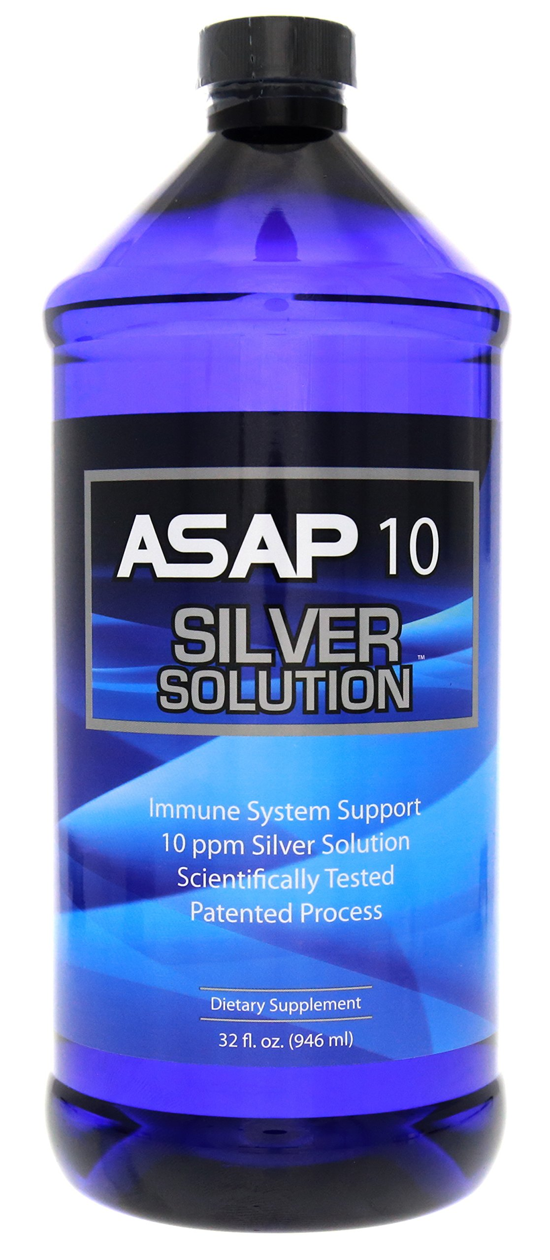 American Biotech Labs ASAP 10 PPM Silver Sol Immune System Support 32oz