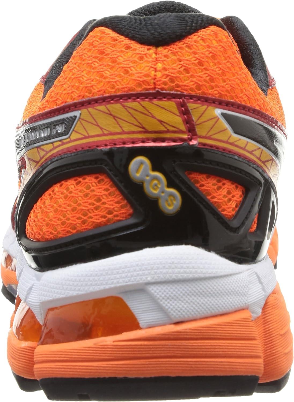 Asics Gel Kayano 20, Zapatillas de Running para Hombre, Naranja/Negro/Rojo/Plata, 42 EU: Amazon.es: Zapatos y complementos