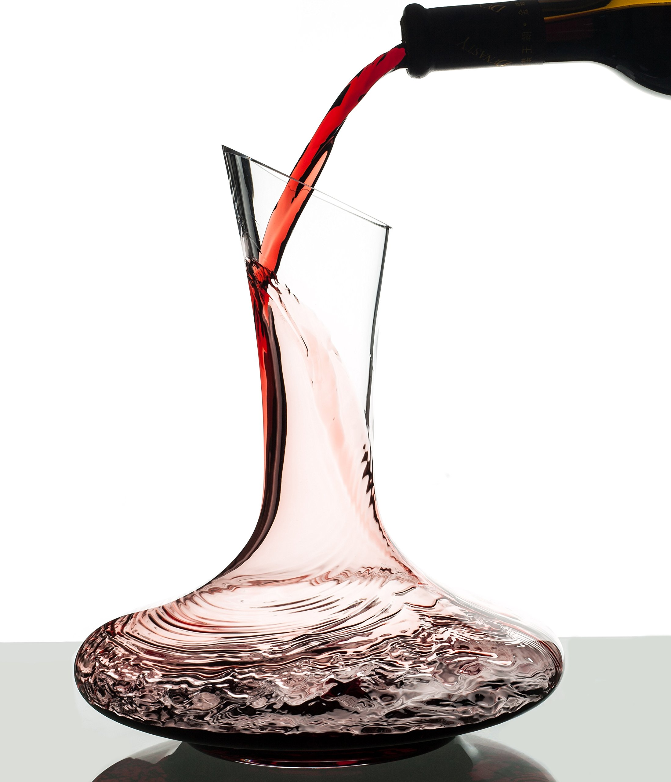 Eravino Mouth Blown Crystal Glass Wine Decanter, 750ml