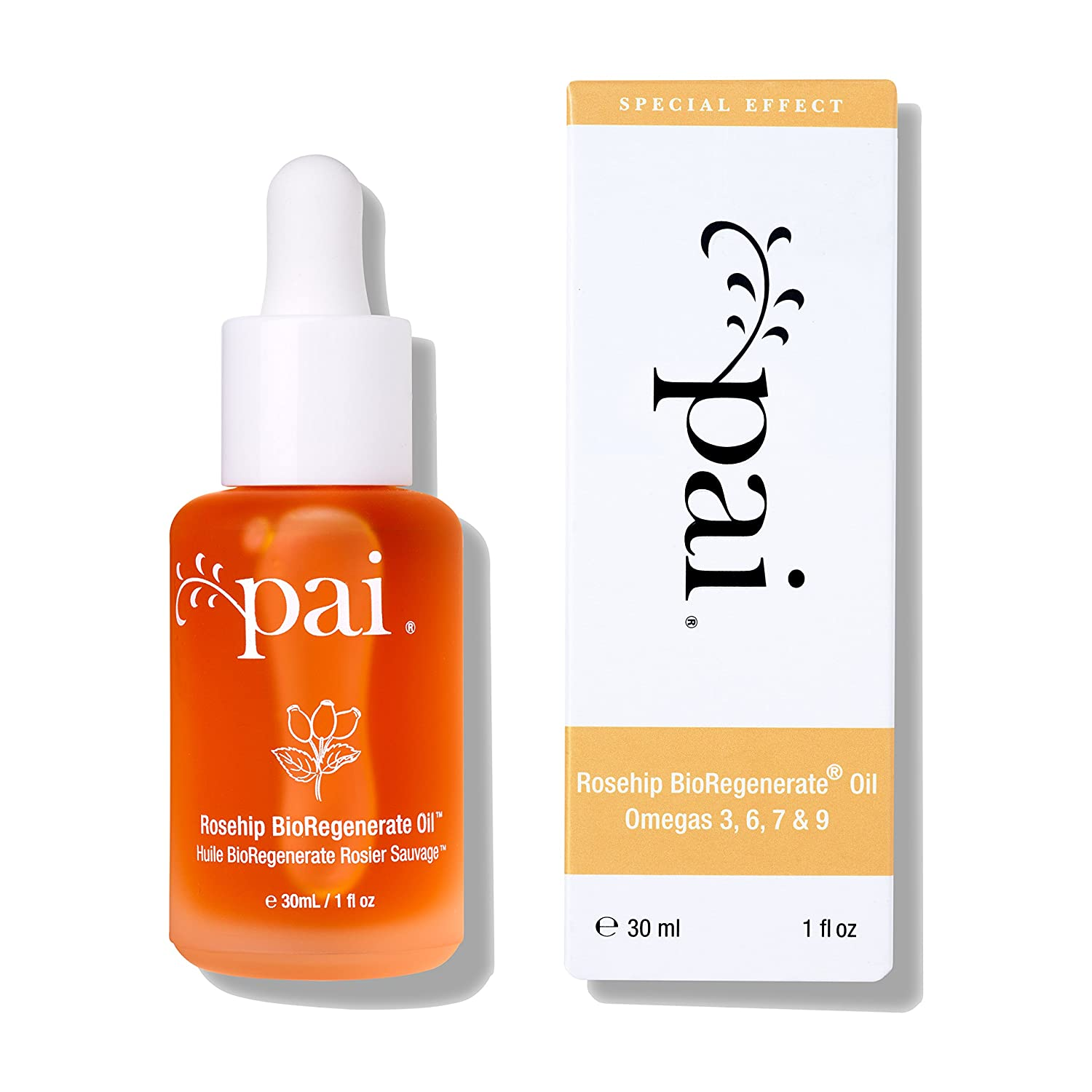 Organic Rosehip BioRegenerate Oil from Pai Skincare