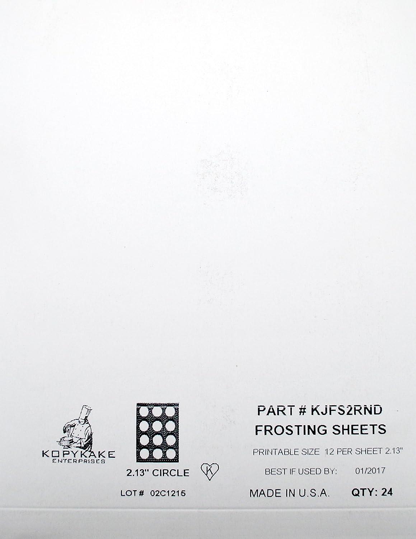 Kopykake Frosting Sheets 2