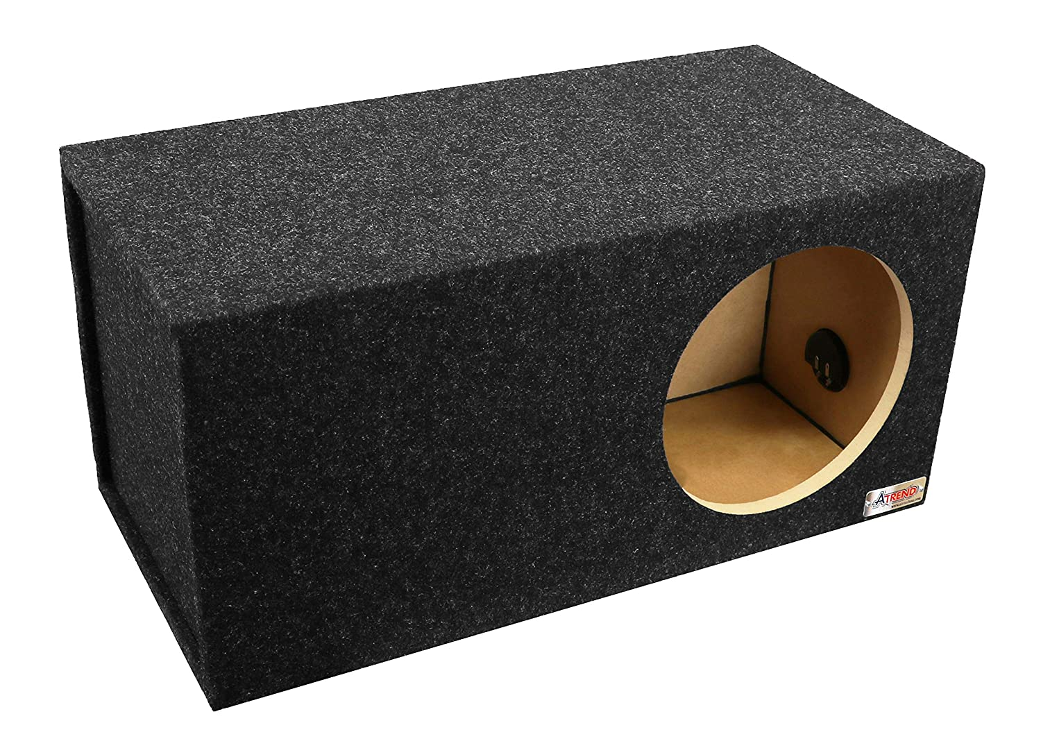 BBox E10DSV Dual 10 Vented Carpeted Subwoofer Enclosure ATREND