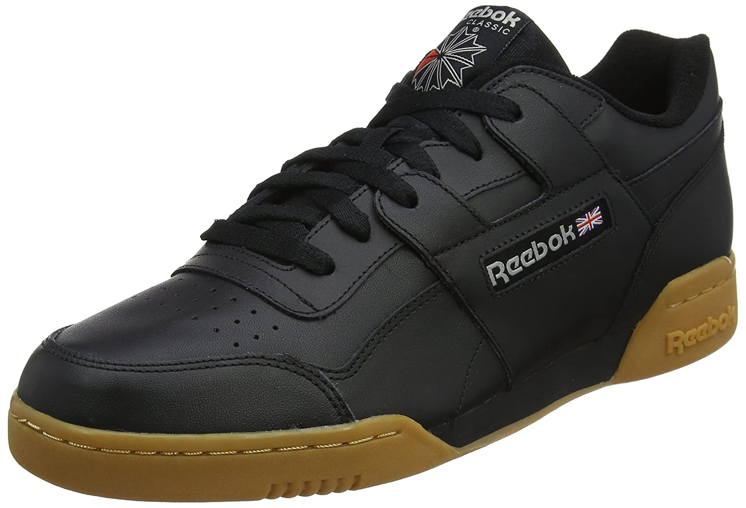 Noir (noir Carbon Classic rouge Reebok Royal Gu 000) Reebok Workout Plus, Chaussures de Fitness Homme 44.5 EU