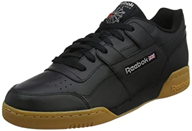 a24a8f96eb083 Reebok Men s Workout Plus Gymnastics Shoes Multicolour (Black Carbon Classic  Red Royal-