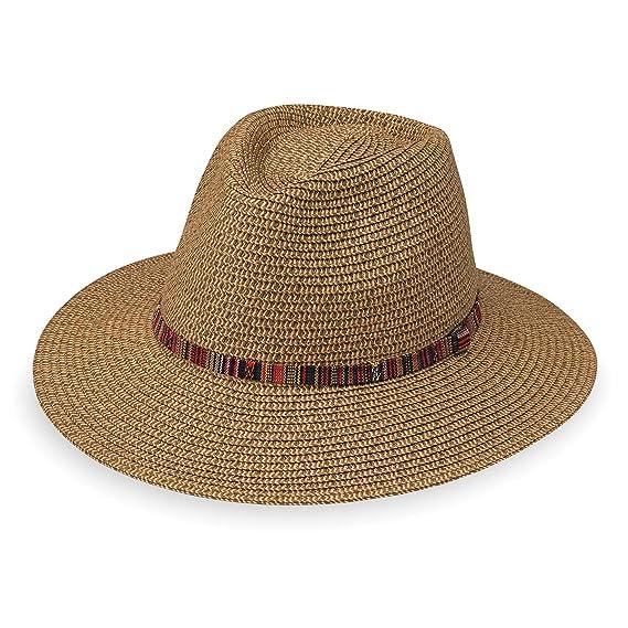 5de47c6750f Wallaroo Women s Riviera Hat - UPF 50+ - Packable - One Size (Camel ...