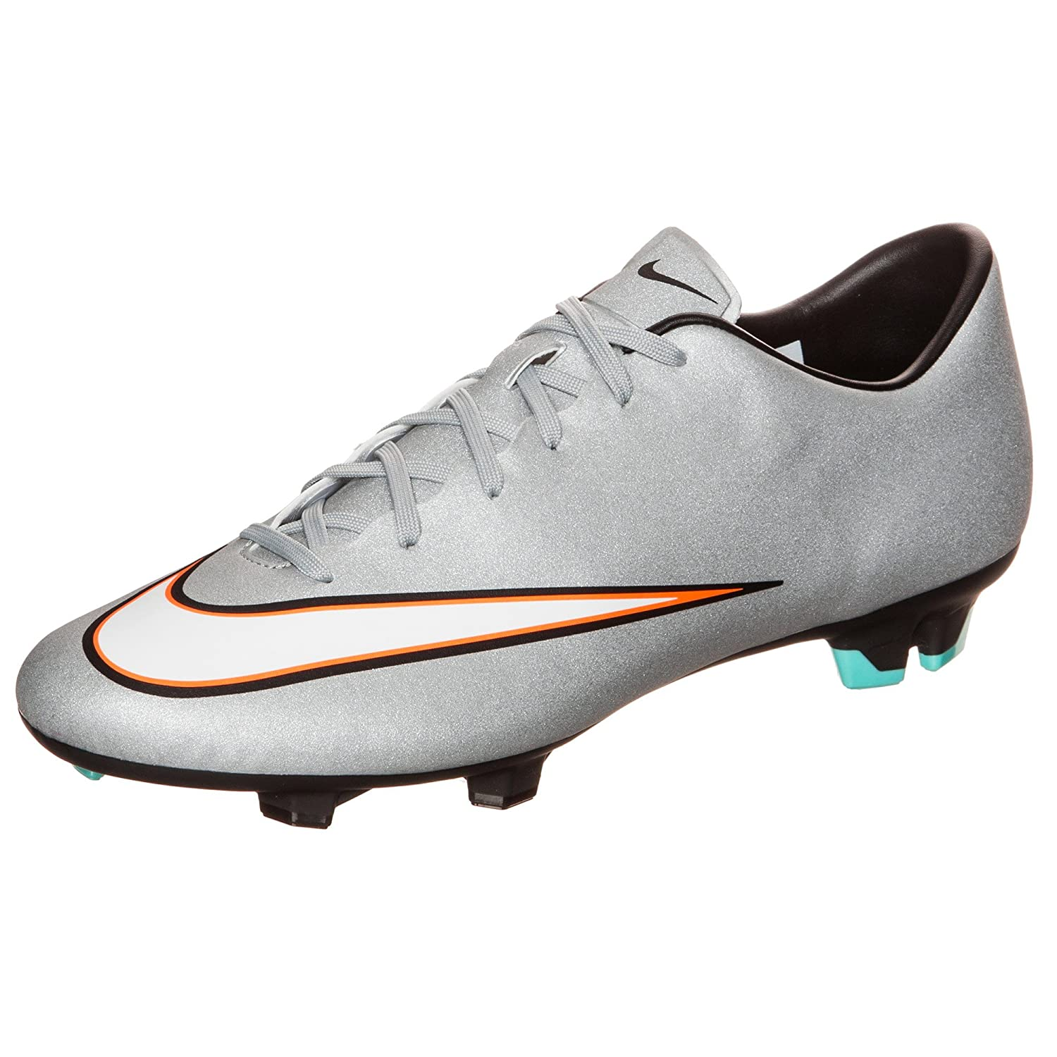 outlet store 5696f 9e45b Nike Mercurial Victory V CR7 FG Soccer Cleats - Metallic ...