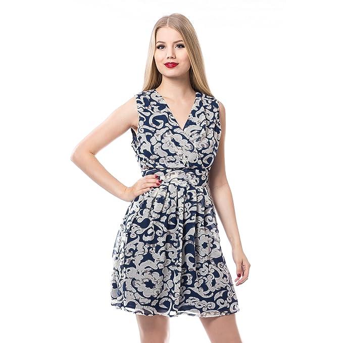 Y Innocent Vestido AzulAmazon esRopa Elin Dress Accesorios OZPkiXu