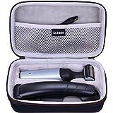 LTGEM EVA Hard Case for Philips Norelco Bodygroomer BG5025/49 back body hair shaver trimmer - Travel Protective Carrying Storage Bag
