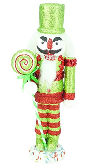 christmas concepts 30cm 12 glitter foam christmas nutcracker soldier decoration various - Christmas Soldier Decorations