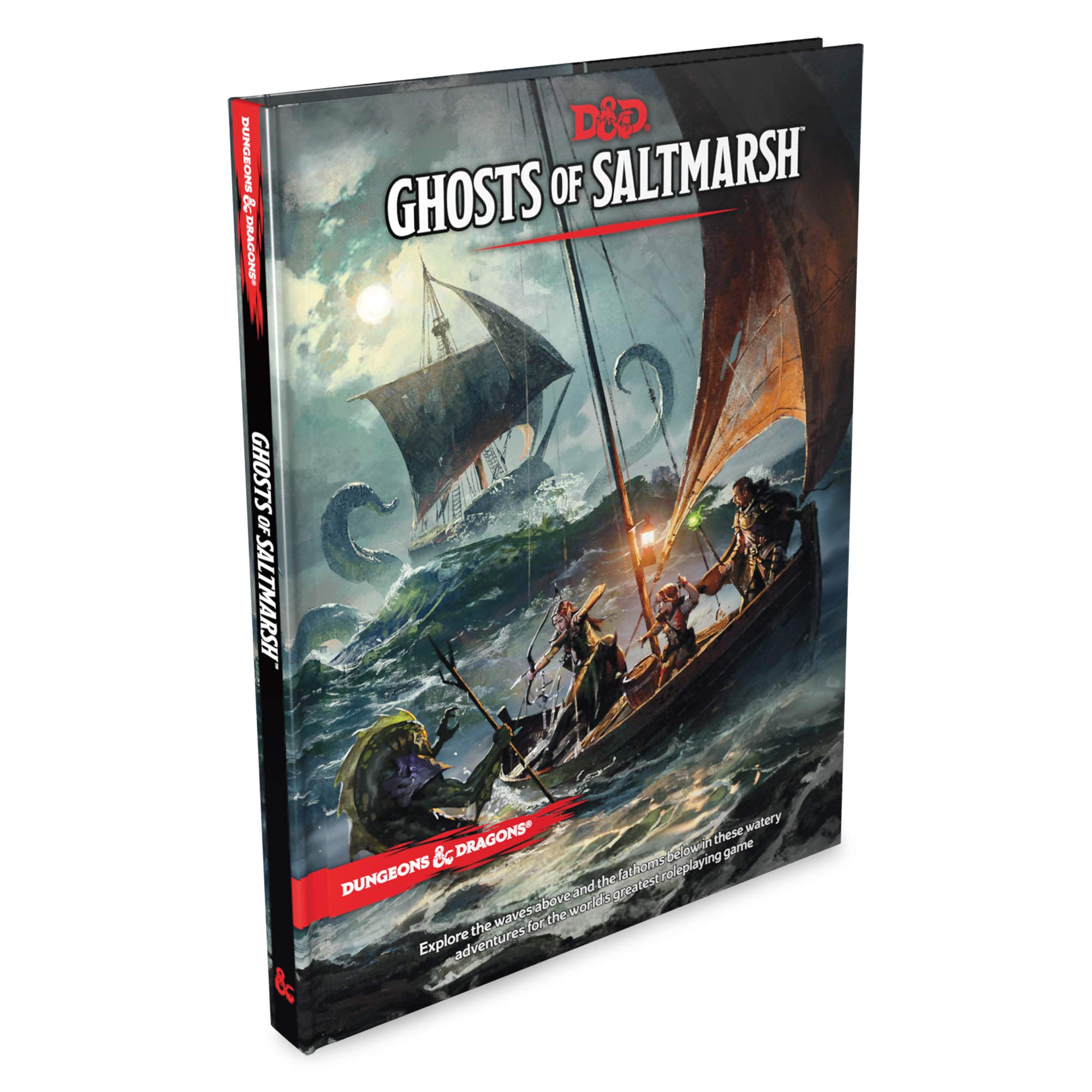 Dungeons & Dragons Ghosts of Saltmarsh Hardcover Book (D&D