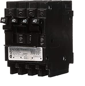 Siemens Q24040CT2 Two 40-Amp Double Pole Circuit Breaker