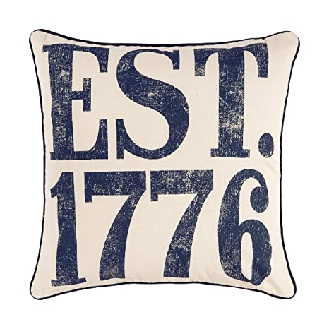 Amazon.com: C&F Home Est. 1776 - Almohada impresa (7.1 x 7.1 ...