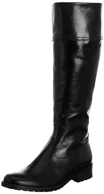 Gabor Dary Wide L, Damen Stiefel , Schwarz - schwarzes Leder - Größe  36.5 c8f761c2b6