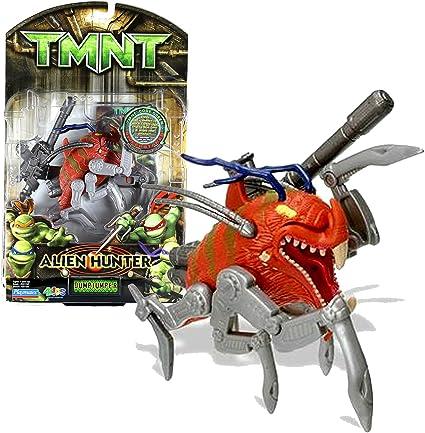 Amazon Com Playmates Year 2007 Teenage Mutant Ninja Turtles Tmnt Alien Hunter Series 4 1 2 Inch Long Action Figure Dumpjumper With Blaster Rifle Toys Games