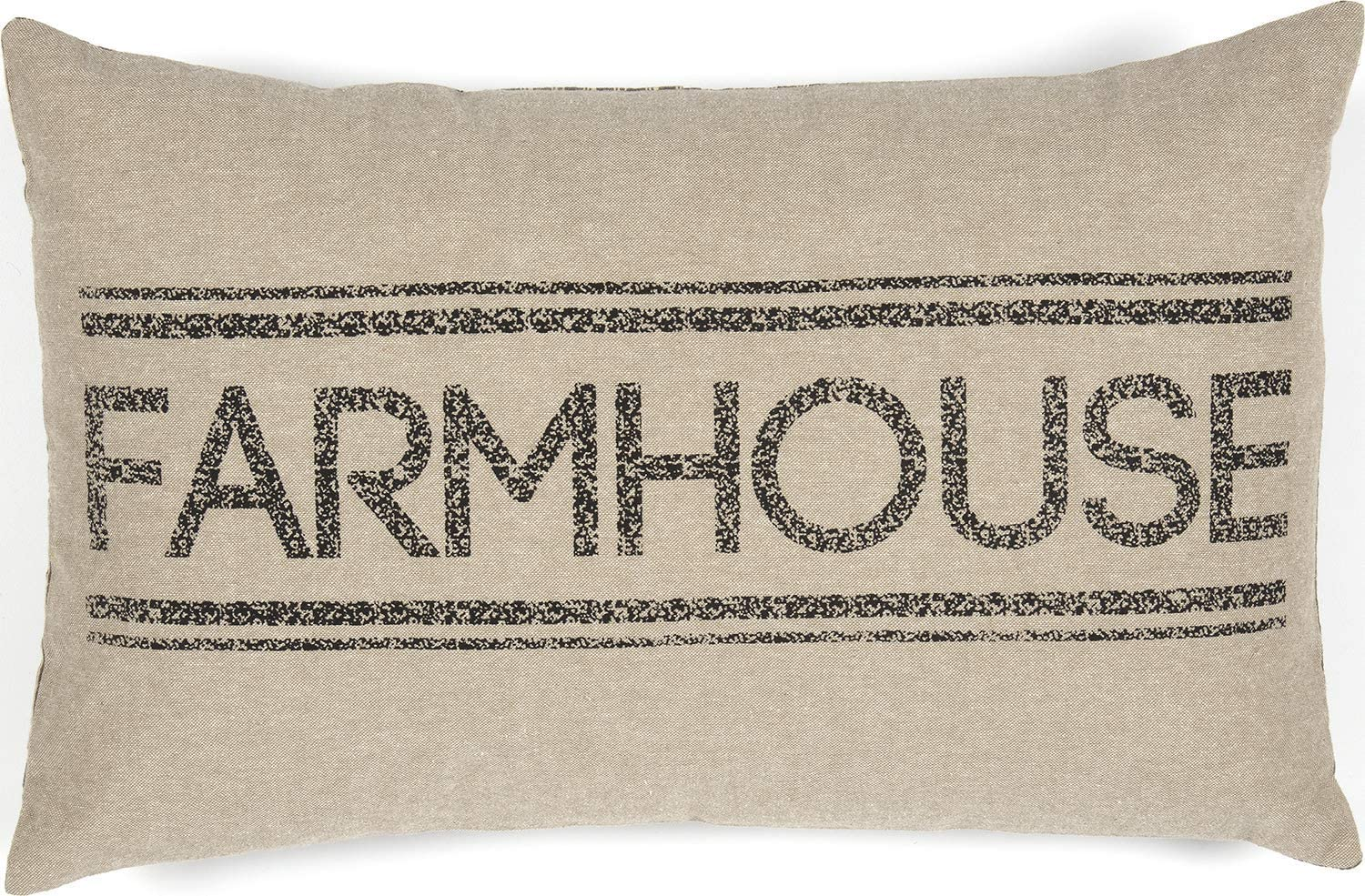 VHC Brands Pillows & Throws-Sawyer Mill Tan 14