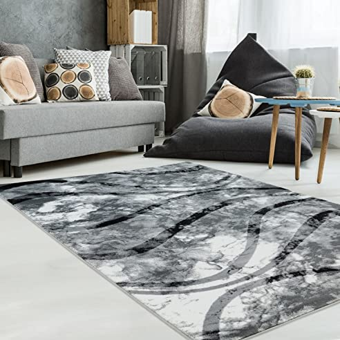 Teppich Modern Designer Wohnzimmer Schlafzimmer Läufer Inspiration ...