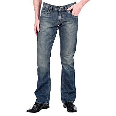 Mustang bootcut dirty washed