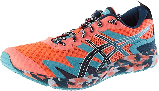 ASICS Gel-Noosa Tri 12 Road Running Shoe Herren Sneakers Orange/Blau