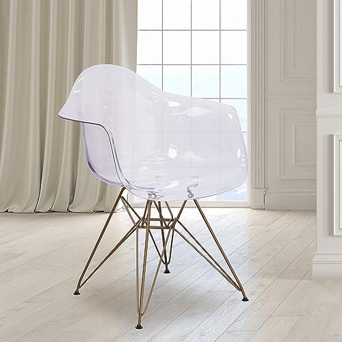BizChair Transparent Side Chair