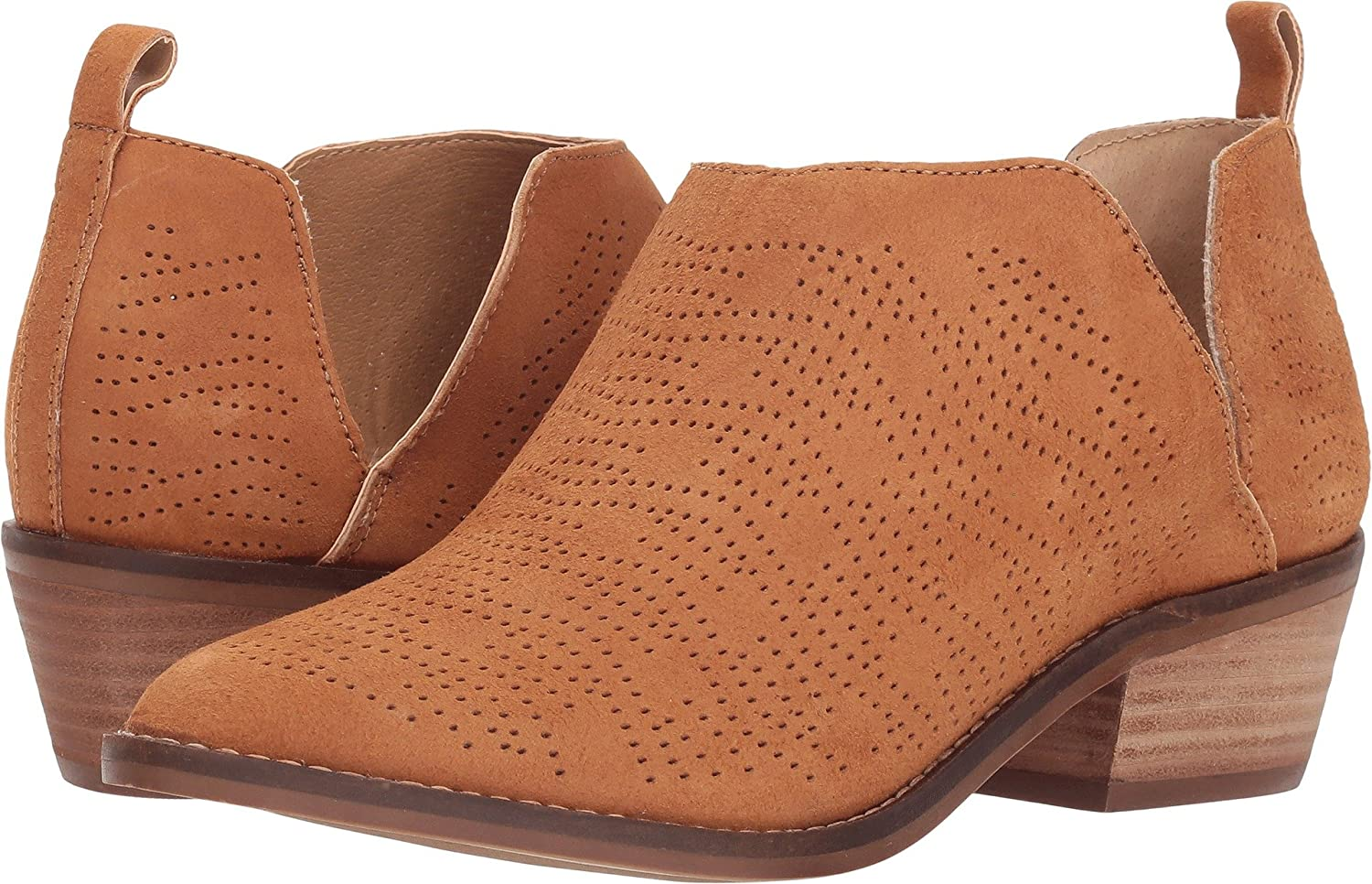Lucky Brand Women's Fayth Ankle Boot B07CK97HRK 8.5 B(M) US|Macaroon