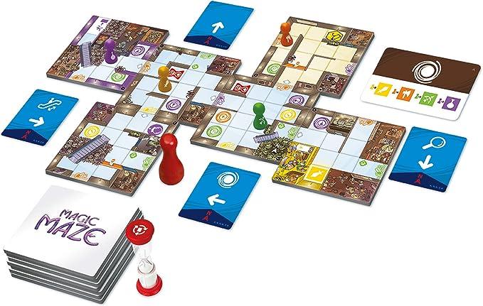 Ghenos Games GHE069 Magic Maze – Juego de Mesa (Idioma español no garantizado): Amazon.es: Juguetes y juegos