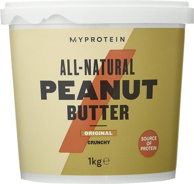 MyProtein Natural Peanut Butter (1000G) 1000 g: Amazon.es ...
