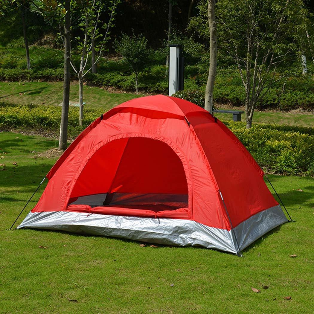 W&J Tenda esterna, tende da campeggio a strato singolo portatile, protezione solare parasole da esterno per esterni tenda da sole, famiglia campeggio escursionismo pesca all'aperto, 12 persone