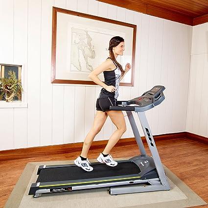 BH Fitness Pioneer Pro Dual Alfombra de Running Unisex, Gris ...