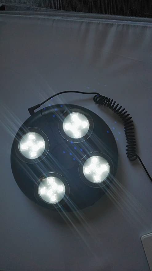 Amazon.com : Accesorio para Sombrillas y Parasoles - Luces de LED recargables : Garden & Outdoor