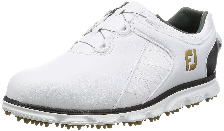 [フットジョイ]  ゴルフシューズ  プロ/エスエル Boa B01LXJYQSL 27.5 cm Wide ホワイト/ブラック2016モデル