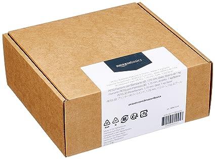 AmazonBasics - Filamento para impresora 3D, tereftalato de ...