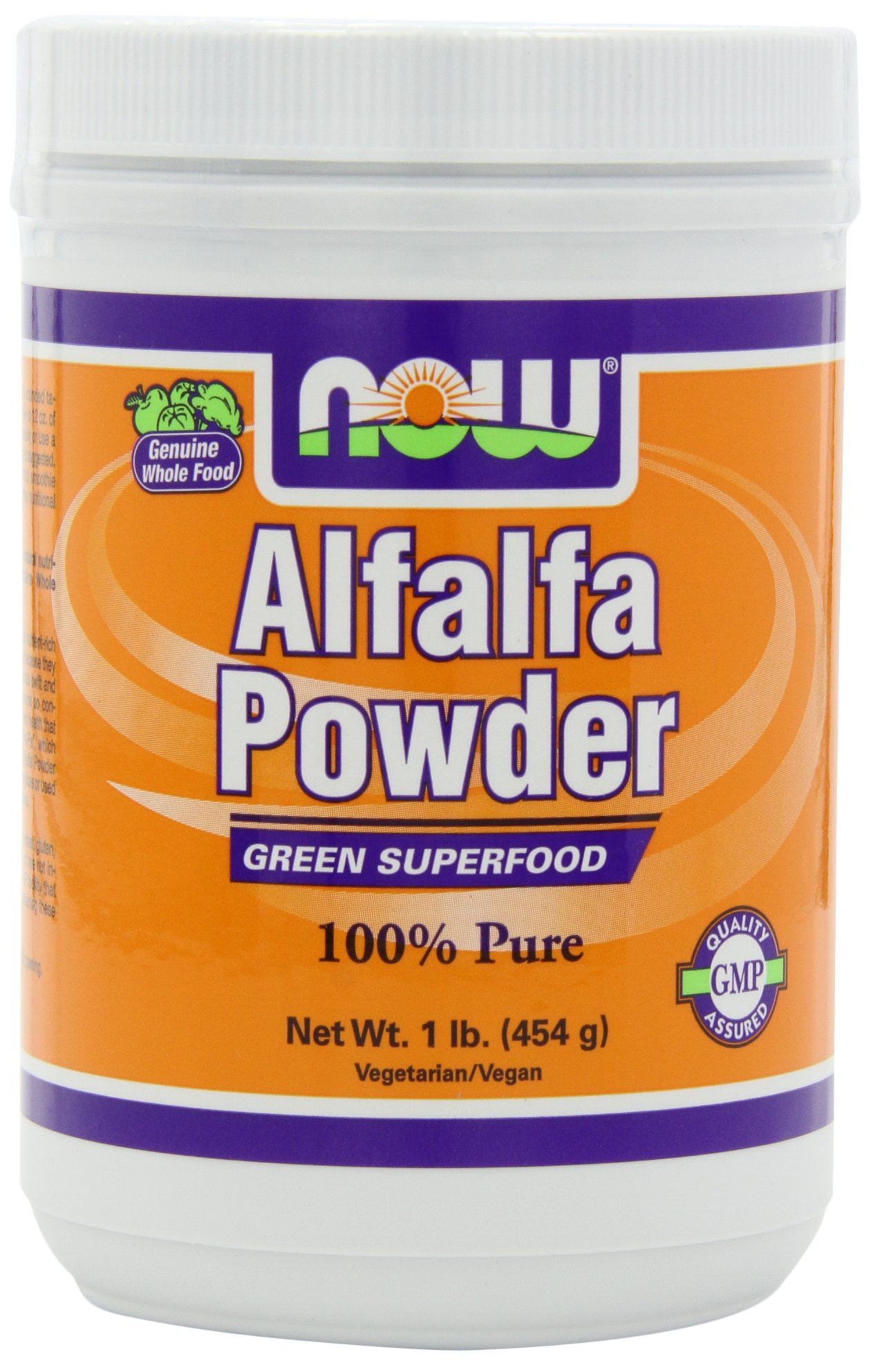 NOW Alfalfa, 1-Pound (Pack of 2)