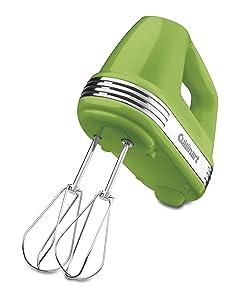 Cuisinart HM-70GRSLT Power Advantage 7-Speed Hand Mixer, Green