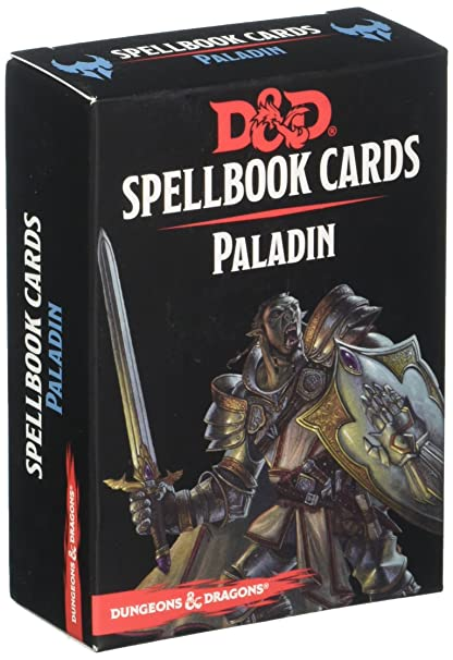 Amazon gale force 9 paladin deck dungeons dragons spell book gale force 9 paladin deck dungeons dragons spell book cards colourmoves