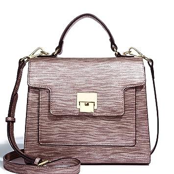 d81eacd1638f Amazon.com  Kadell Women PU Leather Handbags Vintage Tote Purse Shoulder Bag  Satchel for Ladies Purple Bronze  Helresk