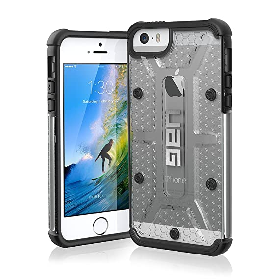 new concept 968a7 c04be UAG iPhone SE / iPhone 5s Feather-Light Composite [ICE] Military Drop  Tested Phone Case